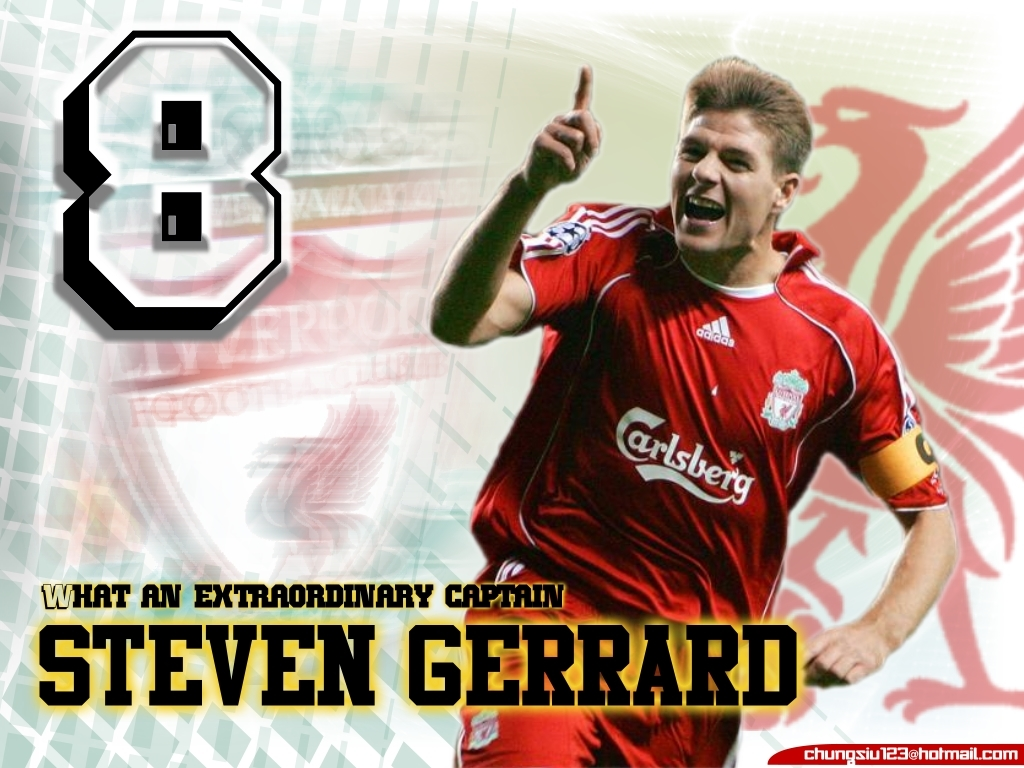 Steven Gerrard Best Captain